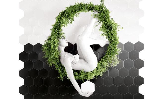 Valmori-ceramica-design-collezioni-tradizionale-LE-CRETE-CLASSIC-hexagon-terra-bianca,-terra-nera-1